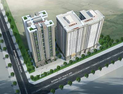 Phối cảnh dự án 283 Khương Đình