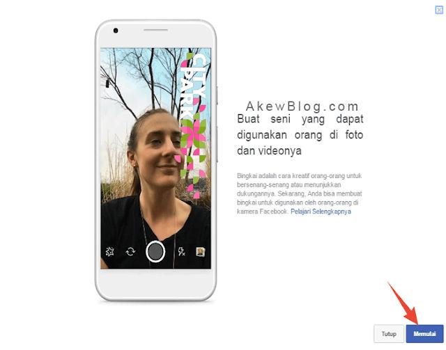 Mulai Unggahan Bingkai Profil Facebook