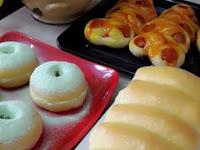 Cuma 1 Adonan Ini Bisa Bikin 5 Macam Olahan Roti Manis, Pizza, Donat, Roti Sobek dan Roti Goreng Dijamin Empuk