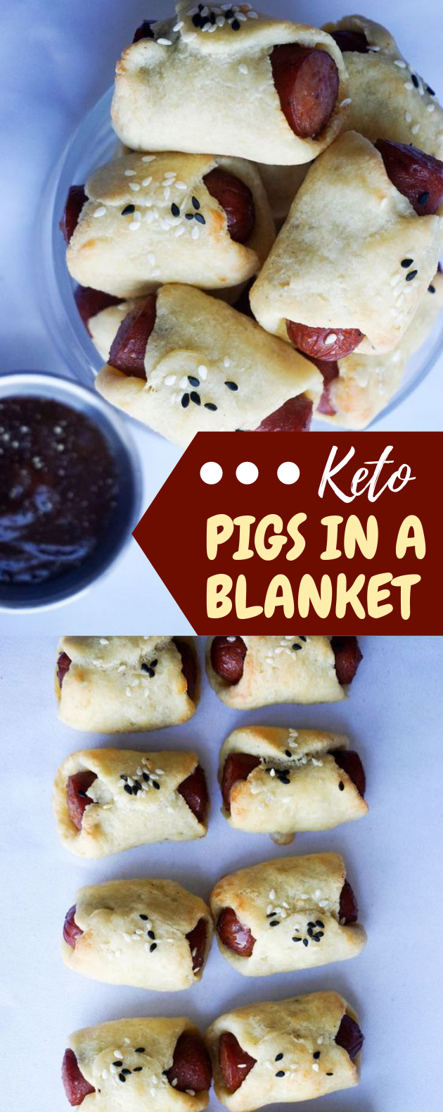 Keto Pigs In A Blanket | Make Snack Time Fun Again! #Ketogenic #lowcarb