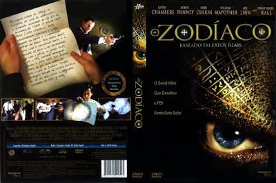 Filme O Zodíaco (The Zodiac) 2005 DVD Capa