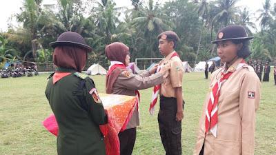 Ki Ageng Tirtayasa dan Nyi Ageng Serang SMA N 10 Purworejo Buka Kemah Penegak