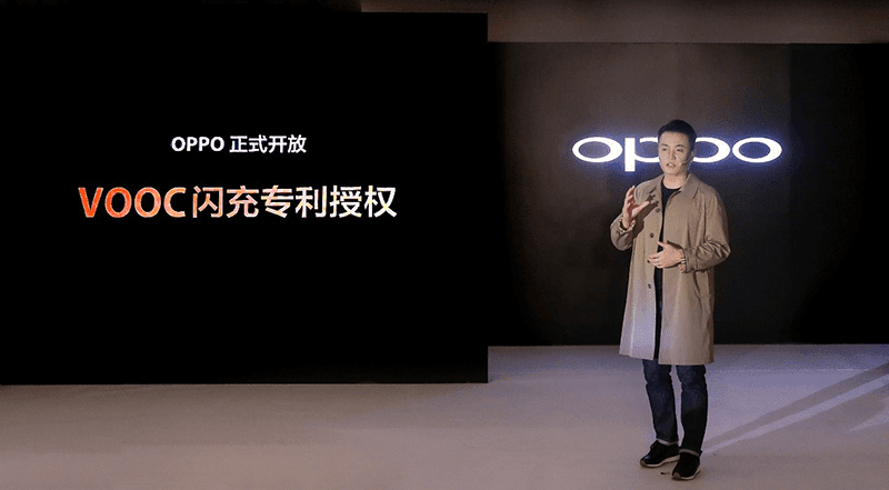 OPPO licenses the VOOC Flash Charge Technology