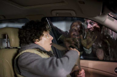 Jesse Eisenberg in una scena di Zombieland