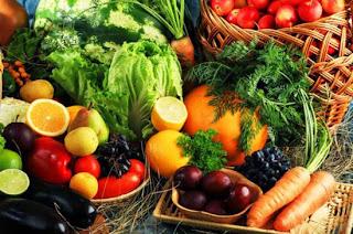 Antioxidante nos legumes do Sacolão Butantã