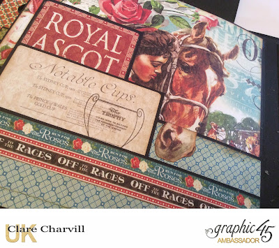 Off to the Races Album Clare Charvill Graphic 45