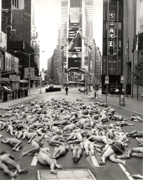 Spencer tunick naked state