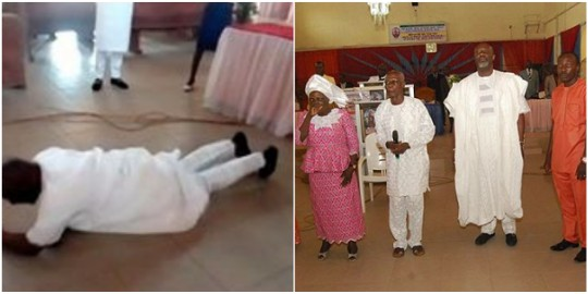 Dino Melaye and family in church for thanksgiving, he's got an Instagram crush (photos)