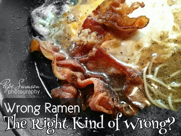 Wrong Ramen: The Right Kind of Wrong?