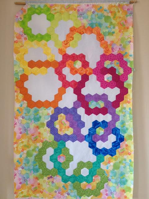 hexagon bubbles top