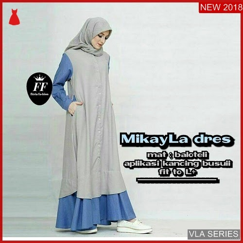 VLA061M68 Model Dress Mikayla Ff Murah BMGShop