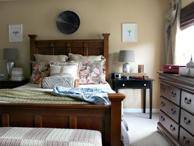 Olivia Bird Floral Pillow Shams-Pottery Barn