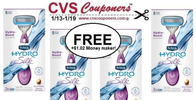 http://www.cvscouponers.com/2019/01/money-maker-schick-hydro-silk-razors-cvs-deal.html