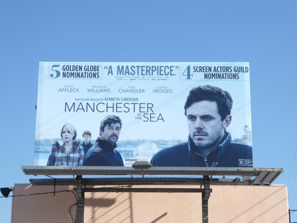 Manchester by the Sea awards consideration billboard