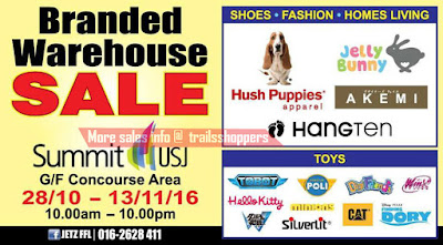 Branded Products Warehouse Sale 2016