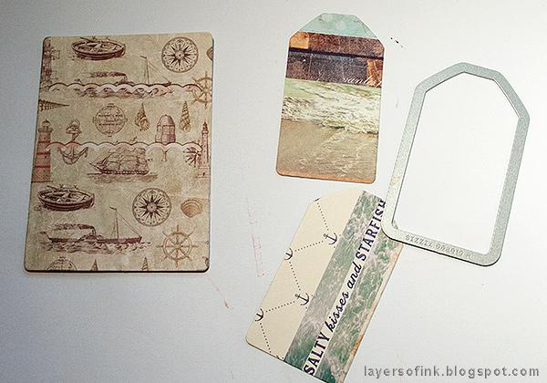 Layers of ink - Nautical Mini Album Tutorial by Anna-Karin Evaldsson
