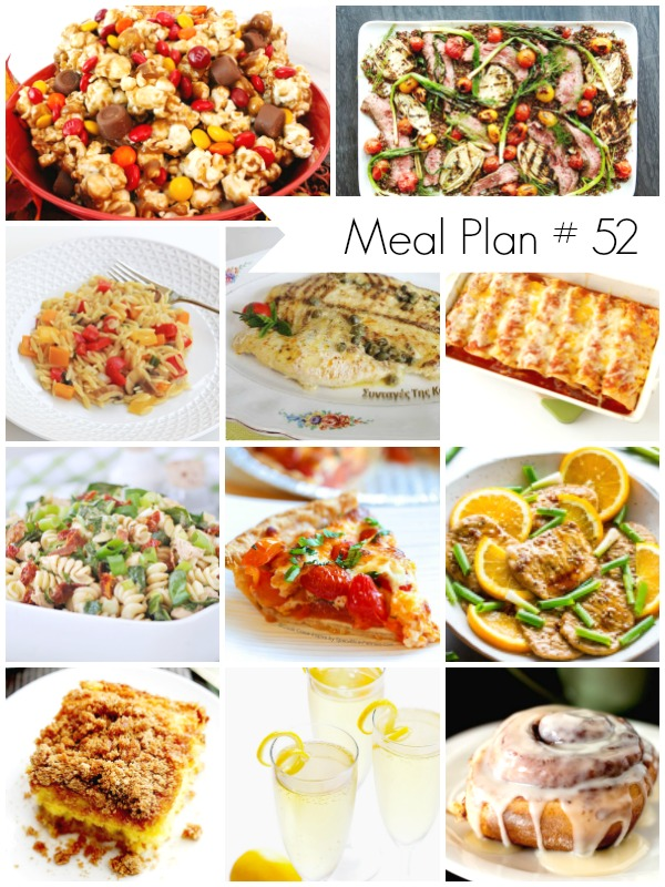 Weekly Meal Plan - Delicious recipes for all