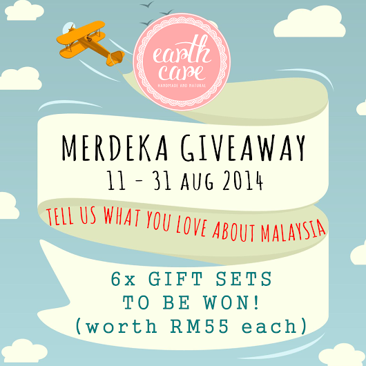 Merdeka Giveaway (11th to 31st August 2014)