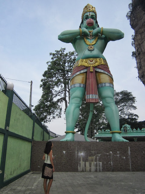hanuman in batu caves