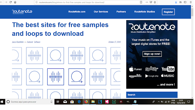 best 4 free loops and samples websites with the most giant packs to download