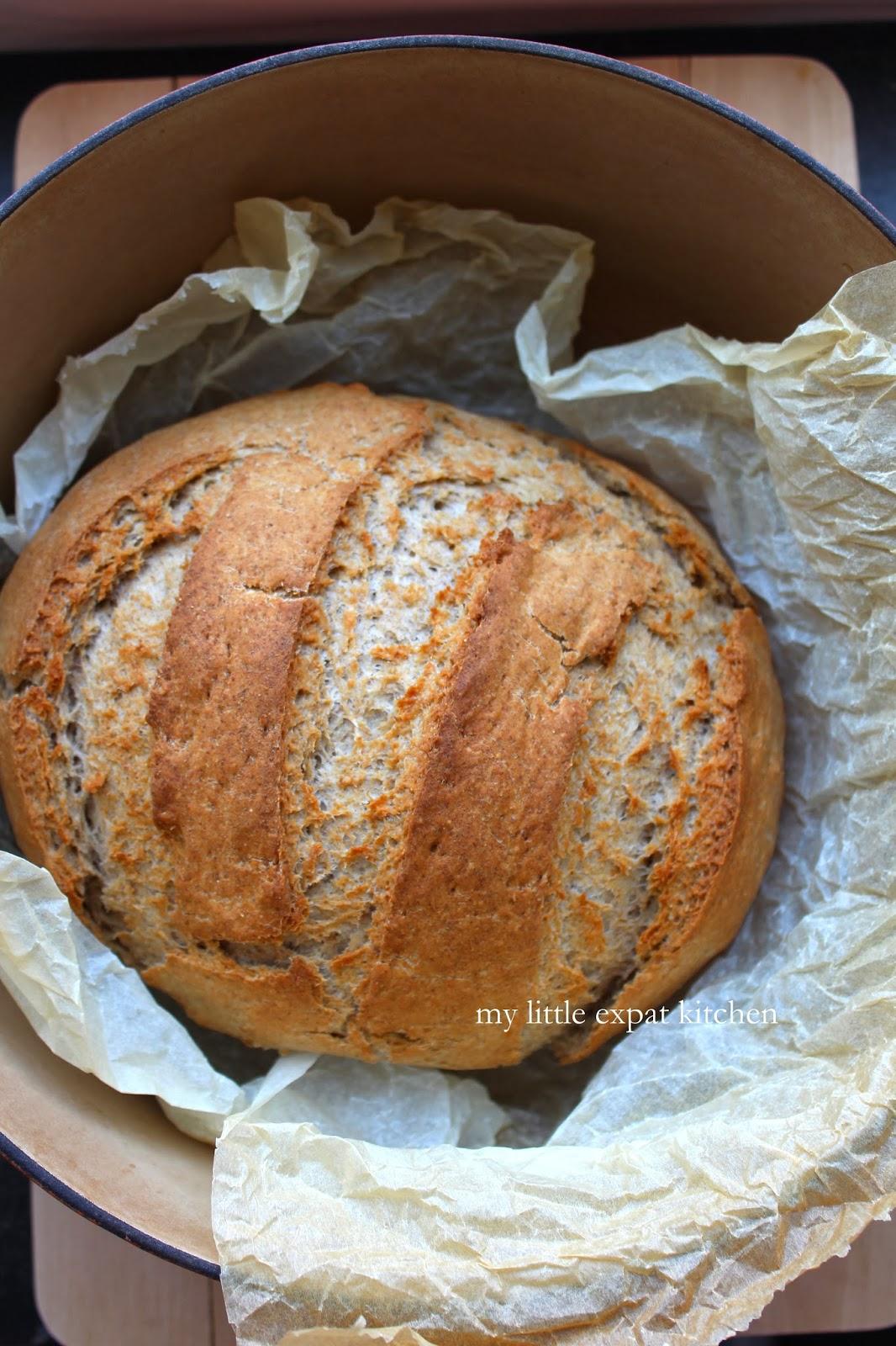My Little Expat Kitchen Greek Barley Bread