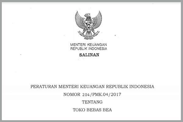 Peraturan Menteri Keuangan Nomor 204/PMK.04/2017