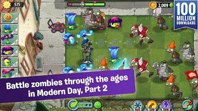 Plants vs Zombies 2 MOD APK+Data v5.2.1 Terbaru