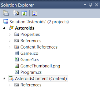 A Solution Explorer do Visual Studio