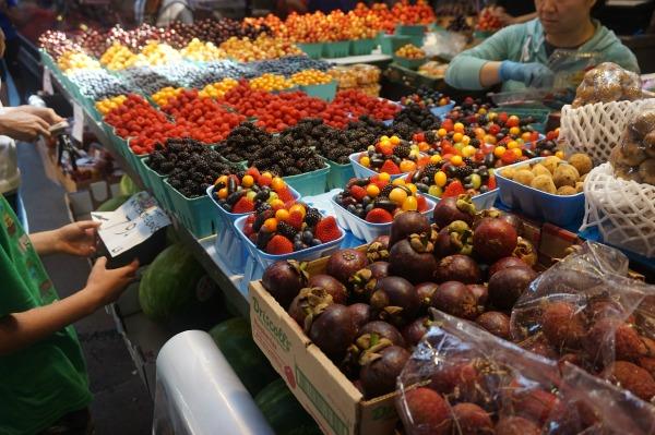 Granville Island - fruit