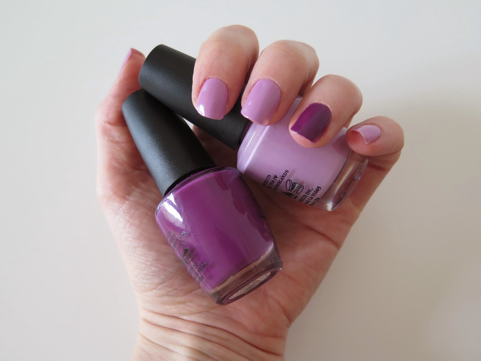 NOTD, Nails, nail varnish, OPI, purple nails