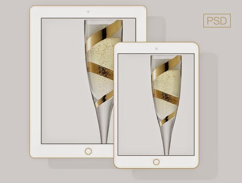 Apple iPad Mini Mockup PSD