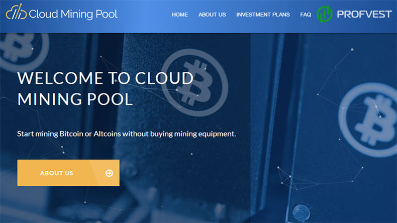 Cloud Mining Pool обзор и отзывы вклад $