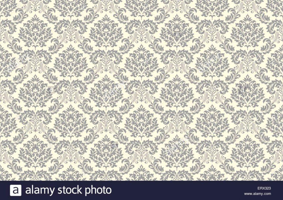 Vector Seamless Vintage Wallpaper Pattern | Wallpapers Book