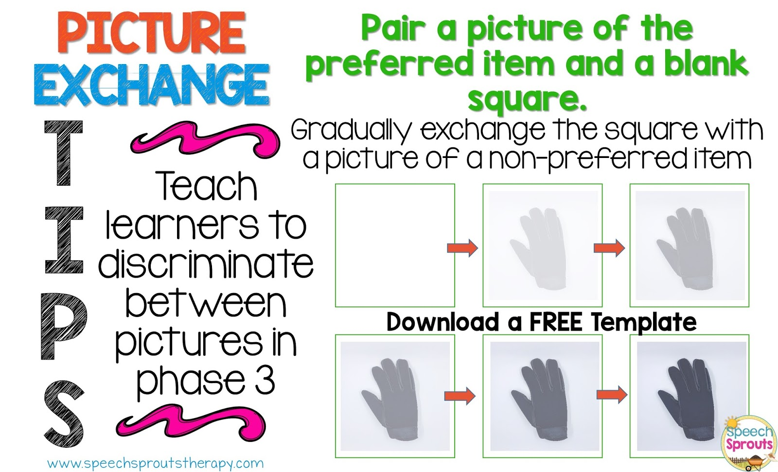 Speech Sprouts Autism Supports Free Templates To Easily Create