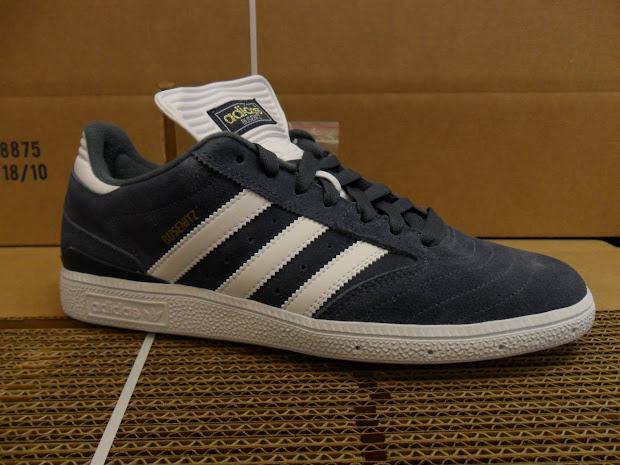 Blindside Of Layton Adidas Busenitz Shoe In Grey And