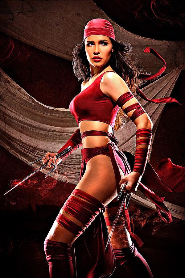 nadine howell sexy elektra cosplay 03