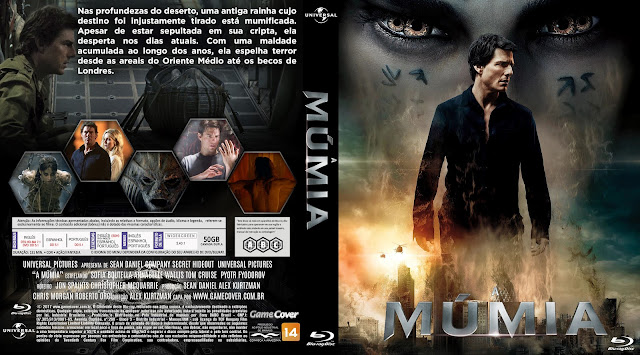 Capa Bluray A Múmia 2017 [Exclusiva]