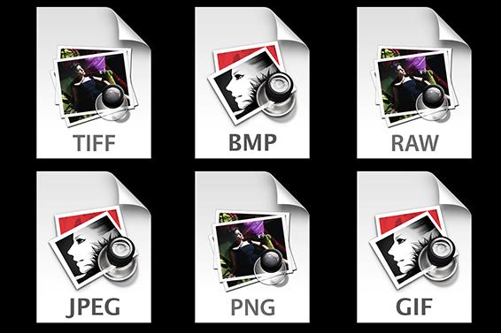 العبيدي للمعلومات : امتدادات ملفات الصور JPEG, BMP, GIF ...
