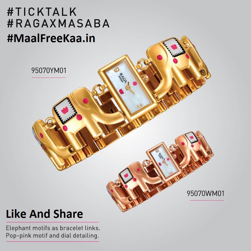 Tick Talk Contest Win Free RagaX Masaba Watches - Freebie