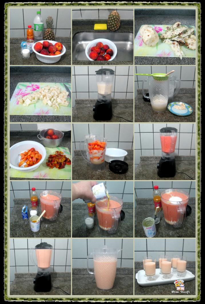 Coqueteis de frutas sem álcool 5