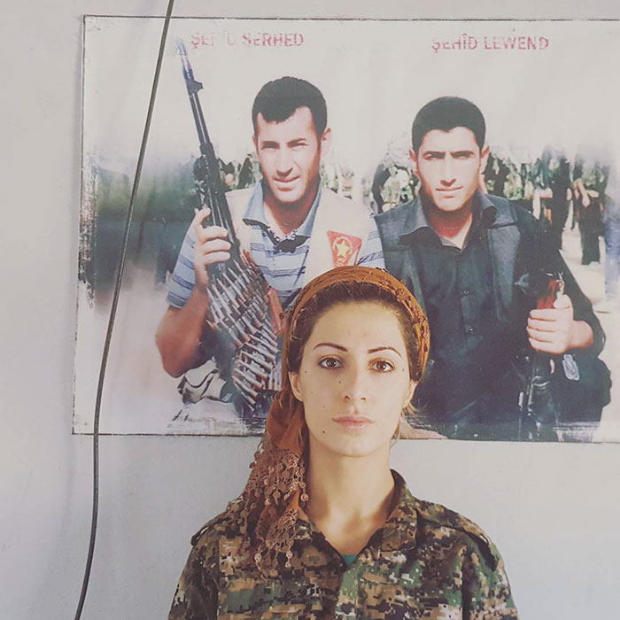 23-Year-Old Student Has A $1 Million Bounty On Her Head For Killing 100 ISIS Militants