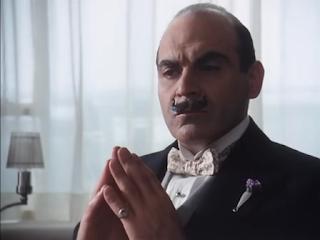 David Suchet as Agatha Christie's Belgian detective Hercule Poirot