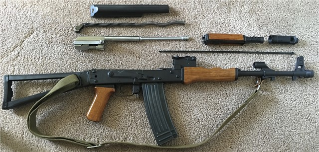 The Chinese AK-47 Blog: Norinco Type 88SB  223 AKS