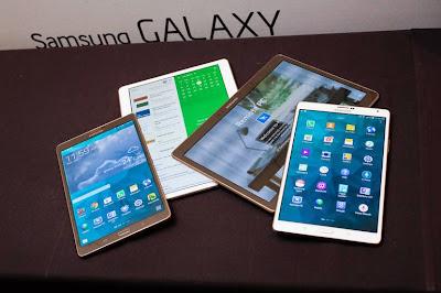 Harga Samsung Galaxy Tab Berbagai Tipe Terbaru 2015