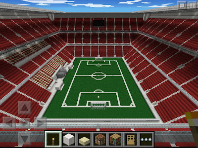 estadio creado en pocket edicion minecraft