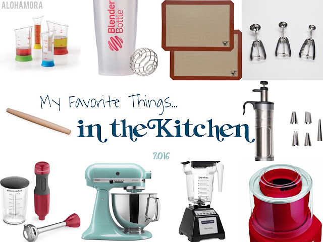 10 of My Favorite Things in the Kitchen. Great gifts and tools for the baker or cook in your life.  Love all of these tools, and use them often. Alohamora Open a Book www.alohamoraopenabook.blogspot.com