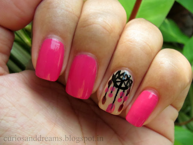 Dreamcatcher Mani,  Dreamcatcher Manicure, Dreamcatcher nailart,