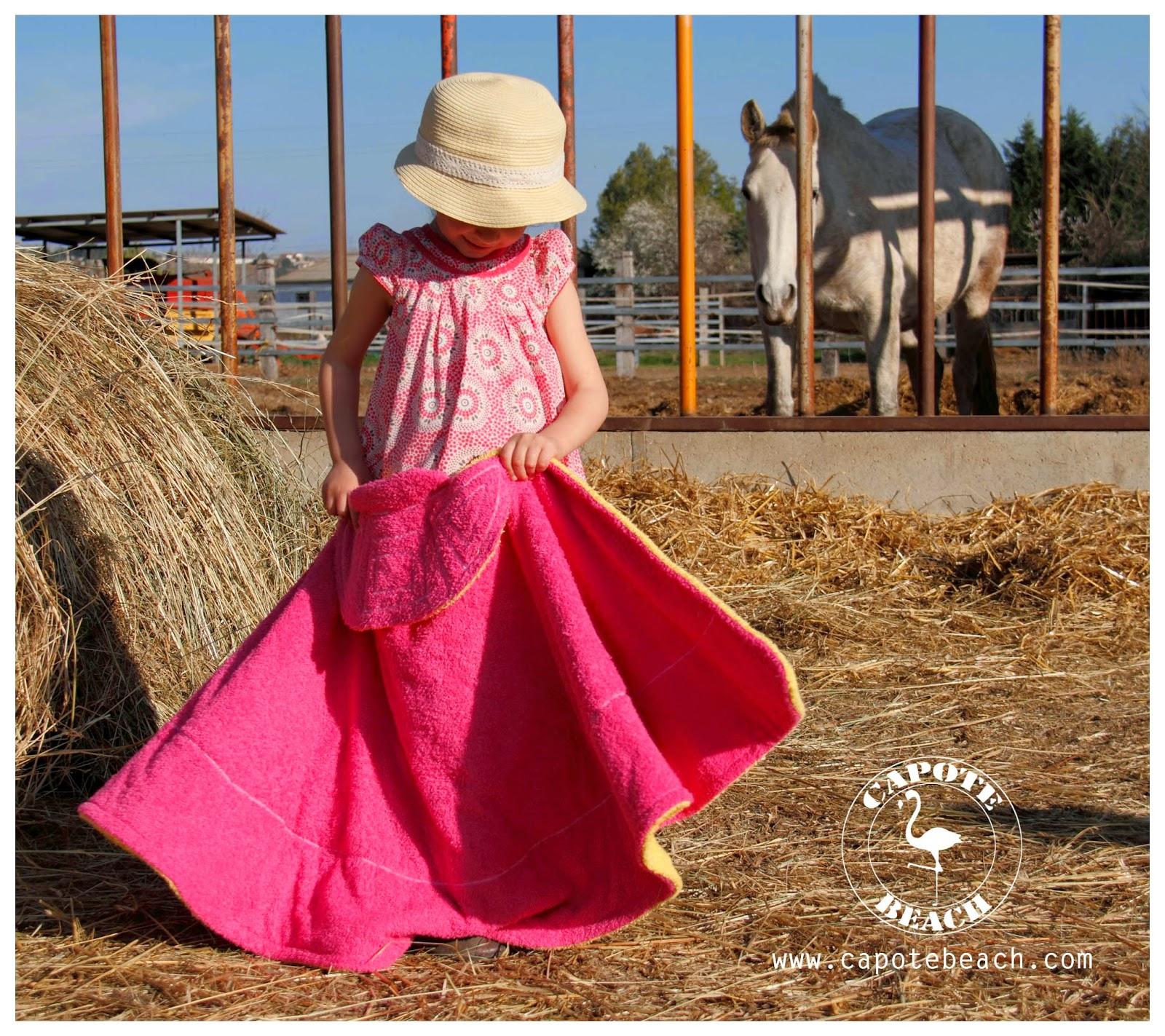 Toalla de Capote Beach hechas a mano también para niños