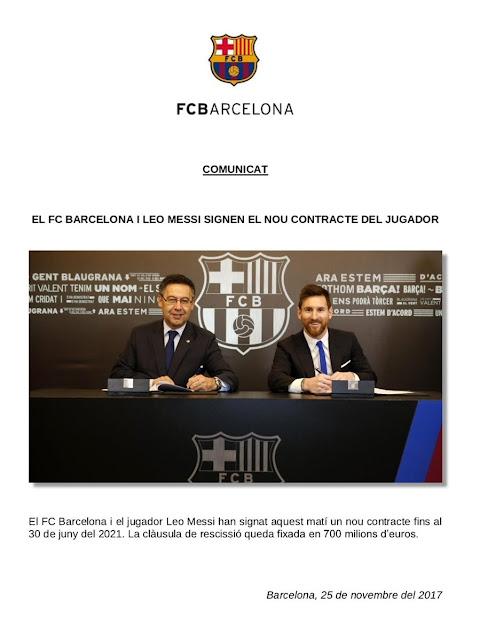 أخبار برشلونة 25/11/2017 ميسي يجدد عقدة مع برشلونة إلي عام 2021 صفقات برشلونة 2018 إنتقال  أنطوان غريزمان إلي برشلونة