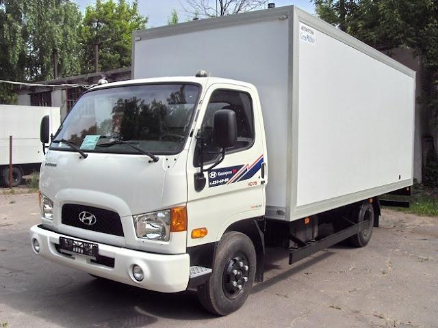 Xe tải hd78 lắp ráp thùng composite